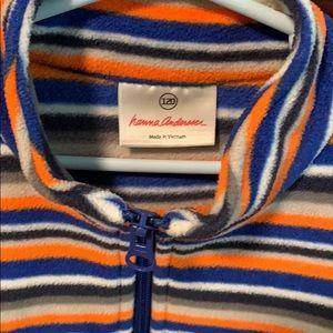 Hanna Andersson Shirts & Tops - Boys stripe fleece